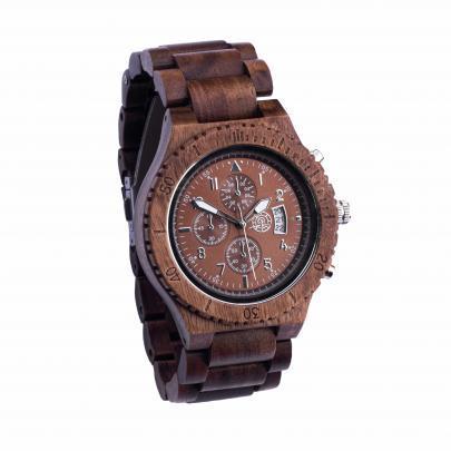 Houten horloge heren Timer Greenwatch