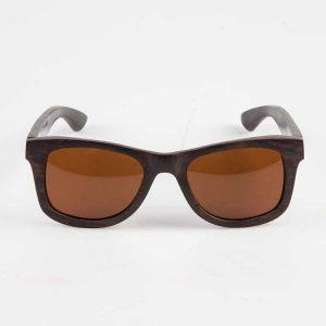 Houten zonnebril Ebbenhout 3
