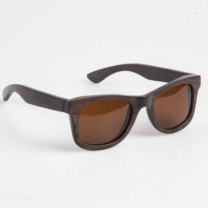 Houten zonnebril Ebbenhout