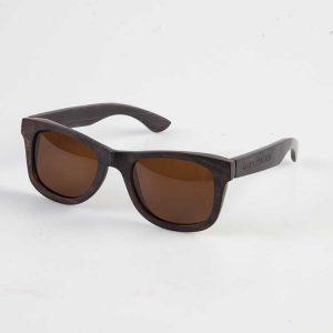 Houten zonnebril Ebbenhout 2