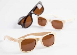 Houten zonnebril Ebbenhout 4