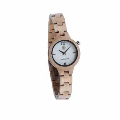 Houten horloges voor dames bij Greenwatch Royal Eikenhout